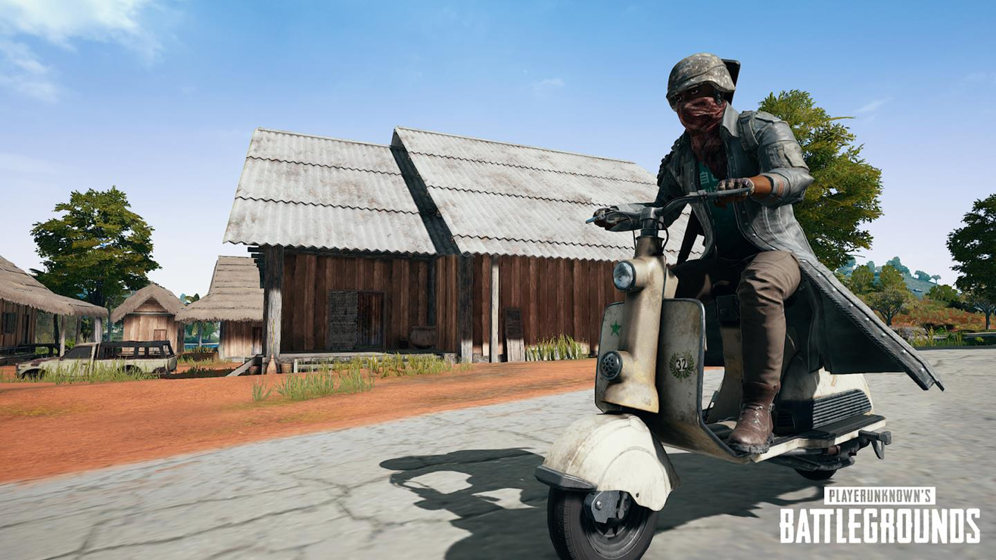 PUBG Patch 20 Brings New 7.62mm Assault Rifle, Scooter