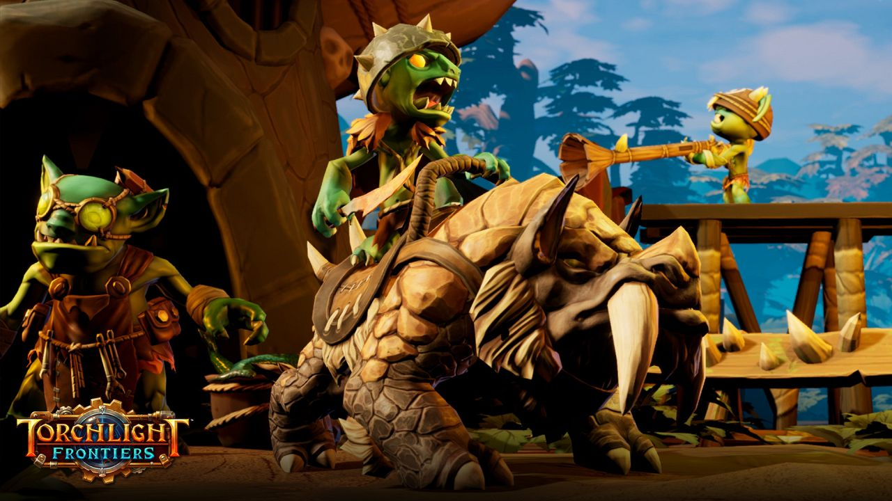 torchlight series returns with shared world action rpg torchlight frontiers. Black Bedroom Furniture Sets. Home Design Ideas