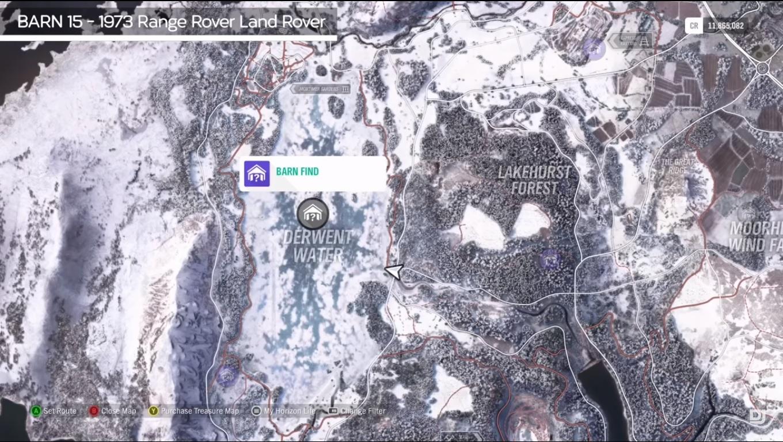Forza Horizon 4 All Barn Finds Including Seasonal Barns