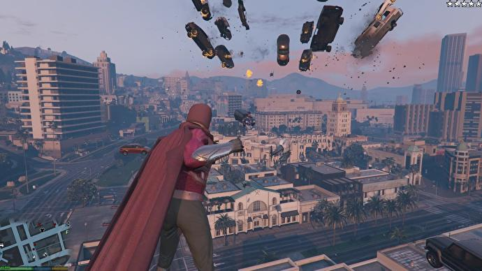 Grand Theft Autos Sandboxes Have Been The Ideal Place To Mod In Superheroes For Years