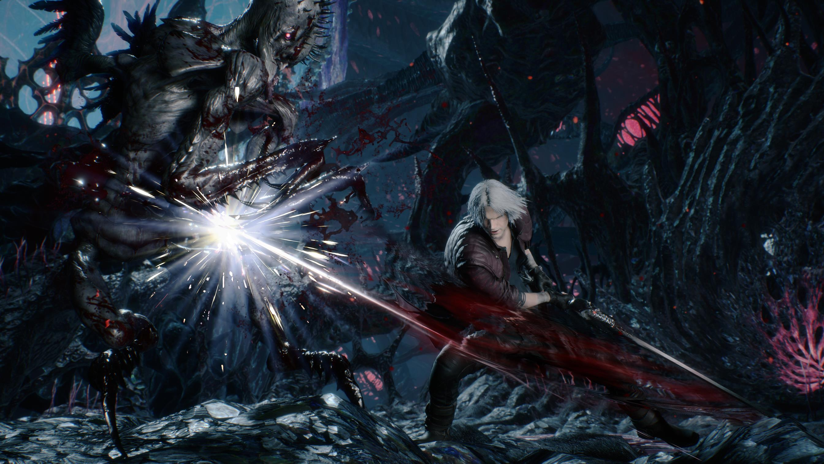 Devil May Cry Dante Wallpaper: Devil May Cry 5 TGS 2018 Trailer Is Our First Look At