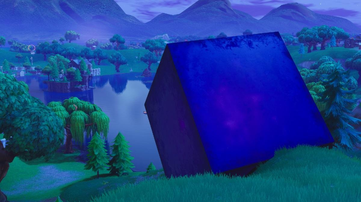 Fortnite Season 6 Start Time Lava Lake Cube Path Map