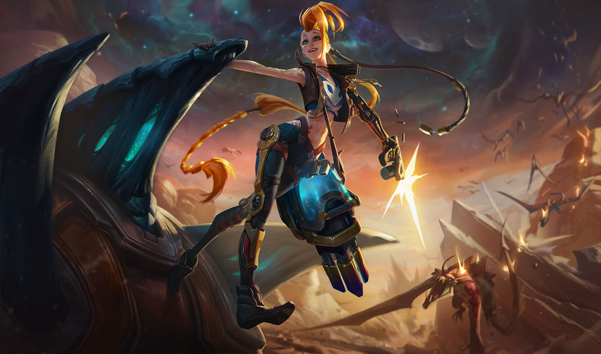 Riot Reveals New League Of Legends Odyssey Skins - Vg247-4843
