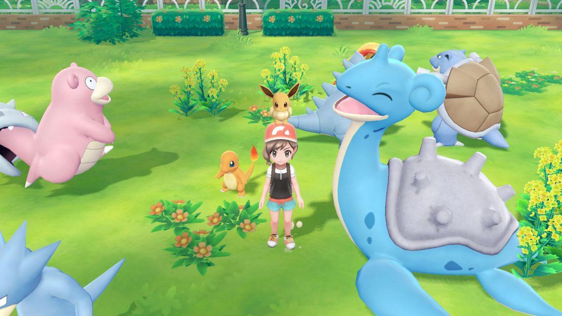 Pokemon: Let's Go Pikachu and Eevee - Legendary Pokemon battles and connectivity to Pokemon Go ...