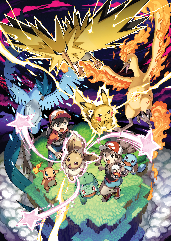 Pokemon: Let's Go Pikachu and Eevee - Legendary Pokemon ...