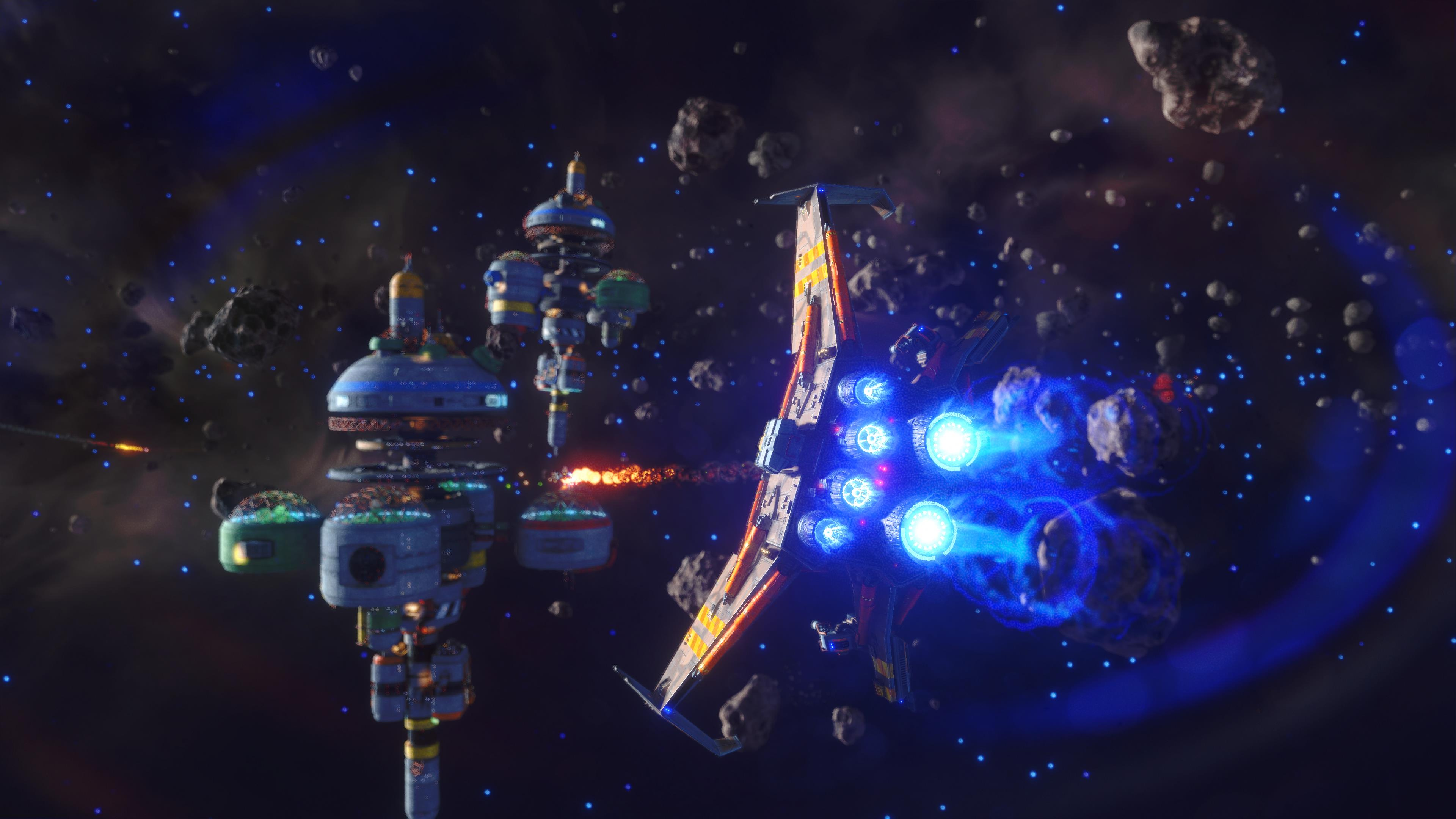 Rebel Galaxy Outlaw Is A Prequel With Bigger Emphasis On