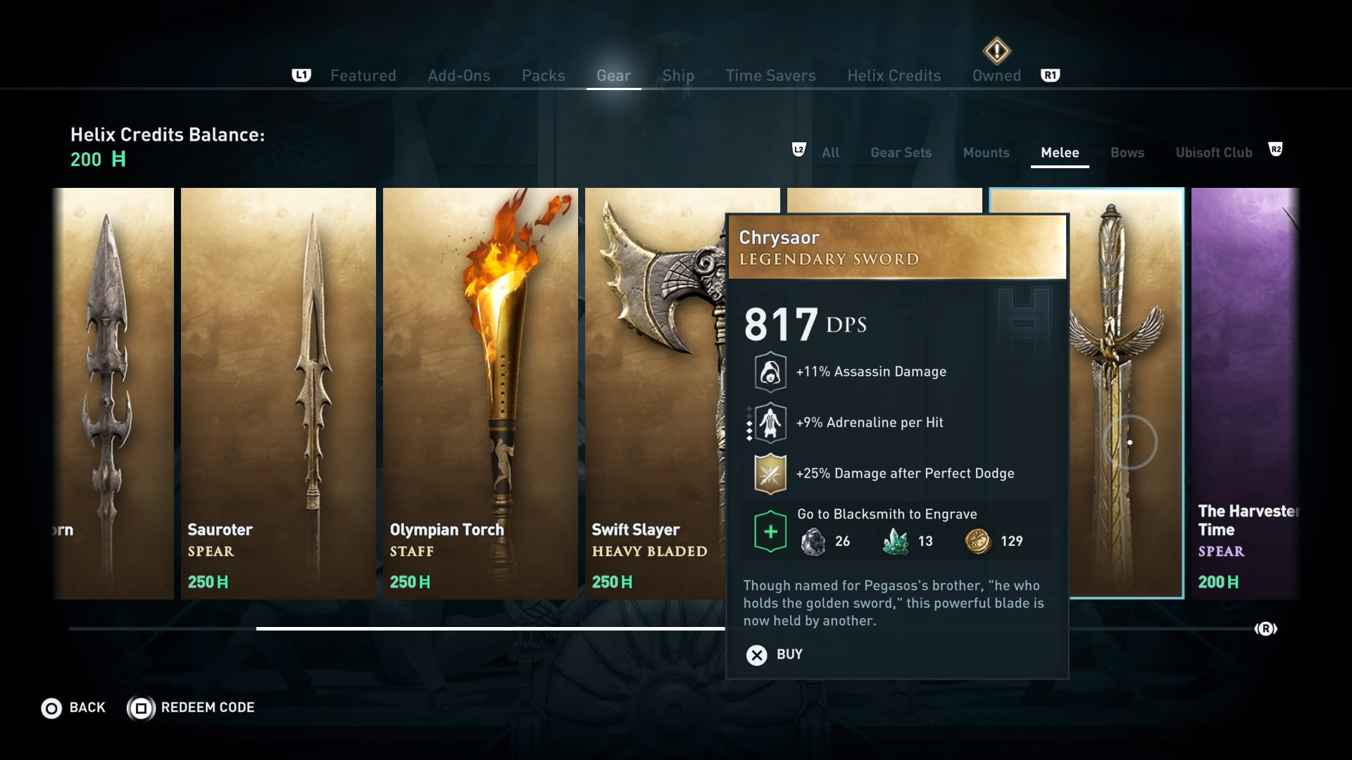Assassin's Creed Odyssey: best weapons for the early, mid ...