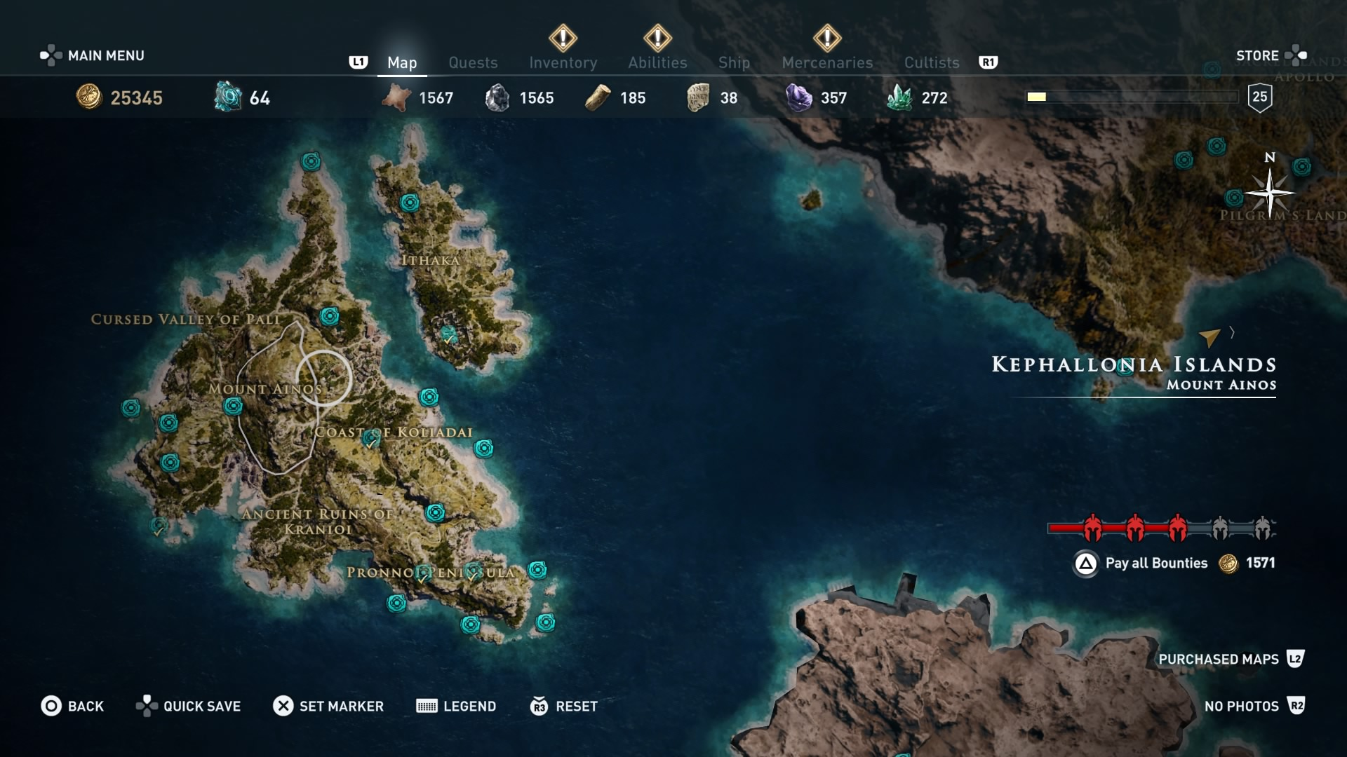 assassins creed odyssey orichalcum ore map locations of - HD 1920×1080