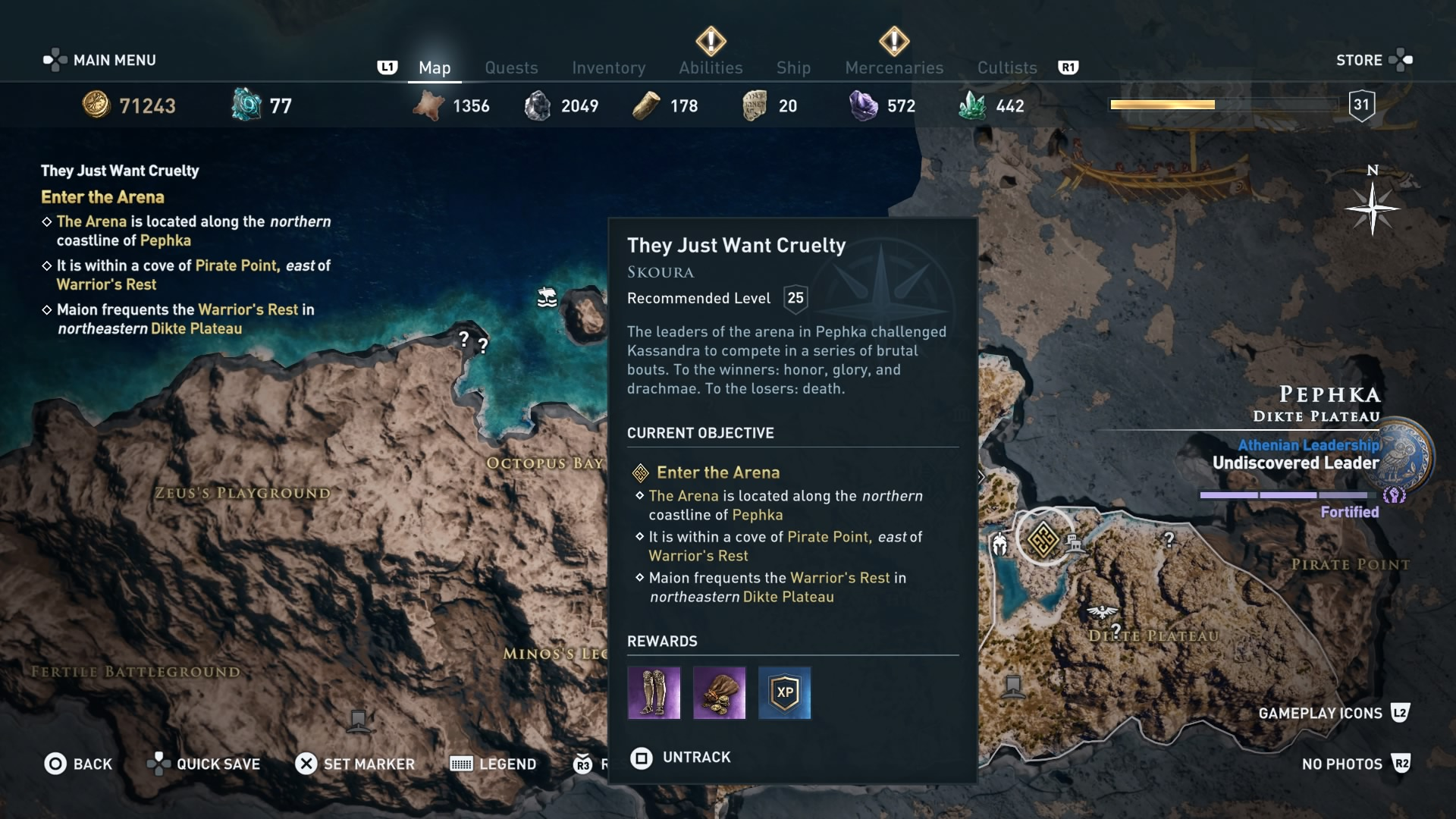 Assassin's Creed Odyssey Arena guide - how to become hero ...