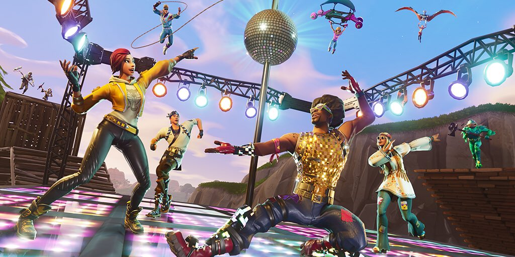 Fortnite Disco Domination Mode Coming Soon Vg247