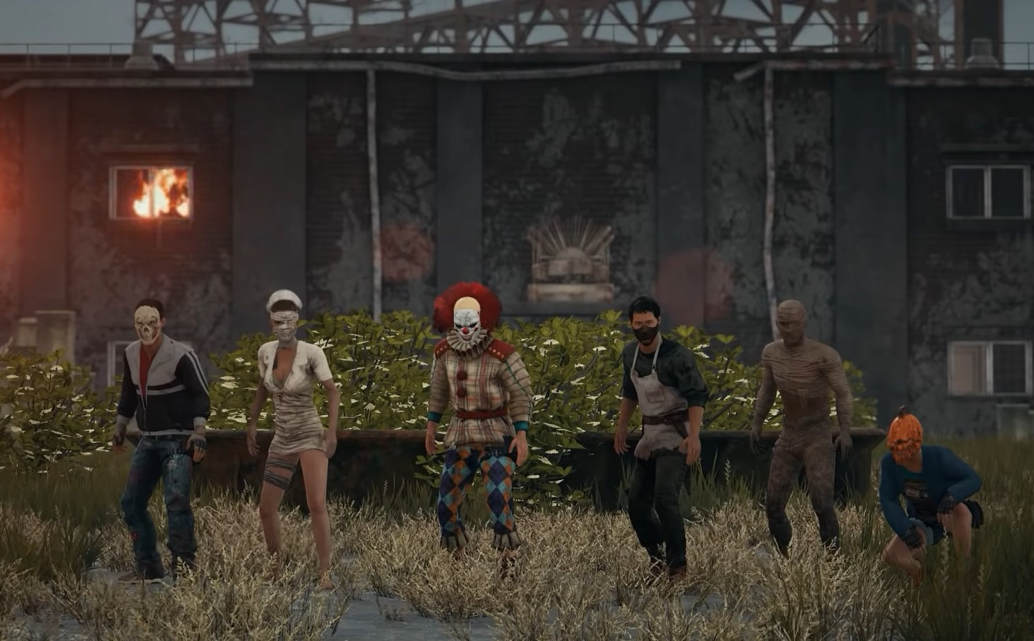 Tweaked Pubg Mobile To Look Like The Pc Version Pubgmobile: Flipboard: Take A Look At PUBG's New Halloween Skins