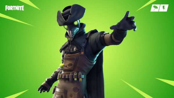 Fortnite patch adds balloons dim mak igor skin and vaults guided missile launcher vg247 - Fortnite plague skin ...