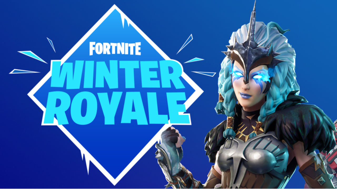 epic games announces fortnite winter royale online
