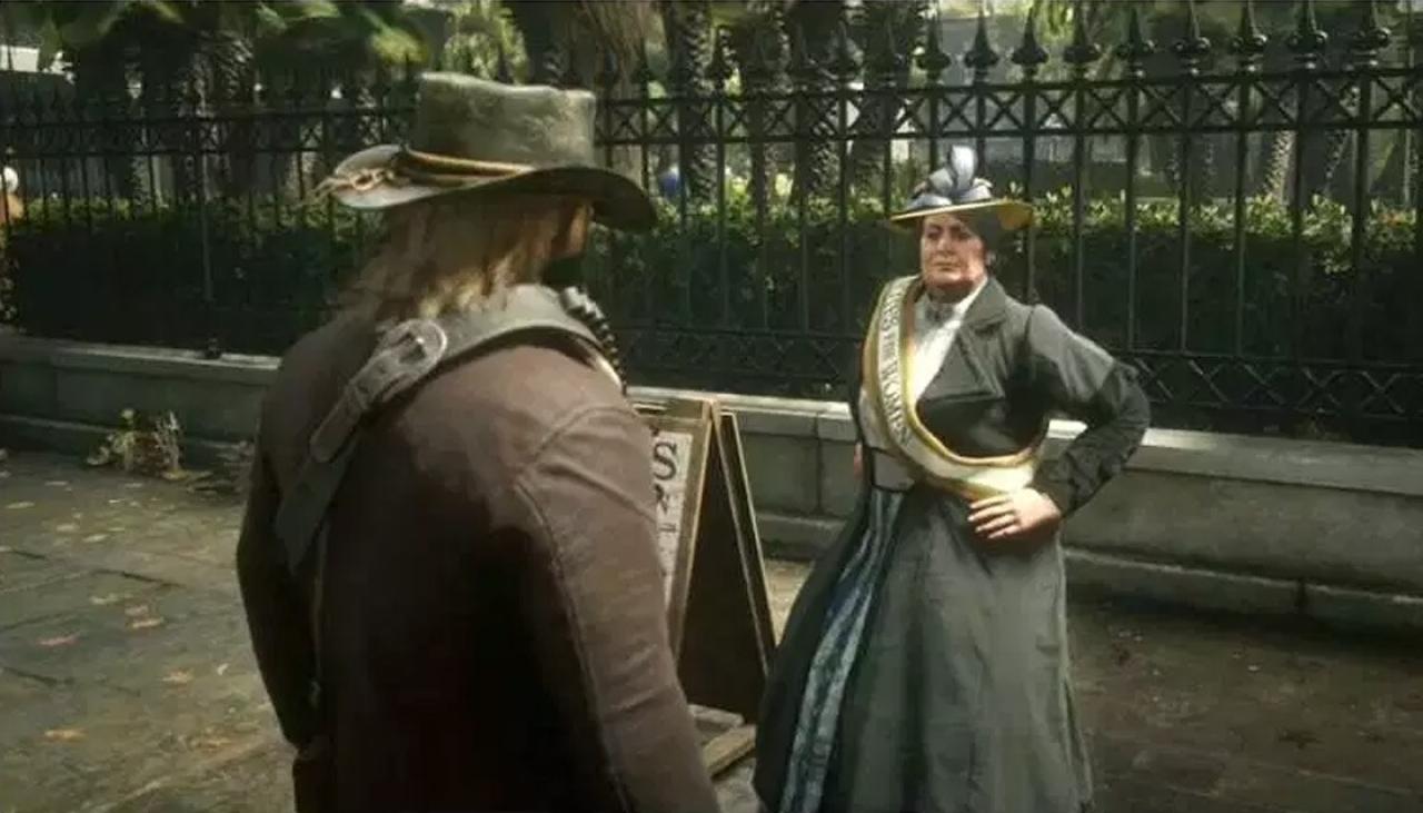 Red Dead Redemption 2 Suffragette Violence Videos Removed -7618