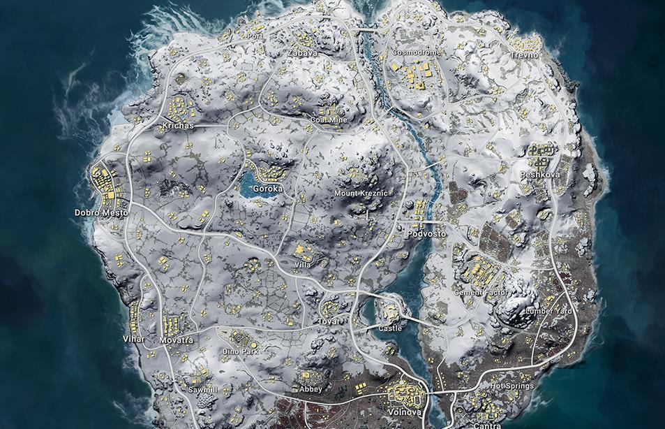 PUBG Vikendi Patch Notes Detail New Map, Snowmobile