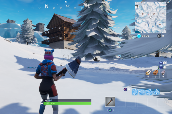 Fortnite: Search Between Three Ski Lodges