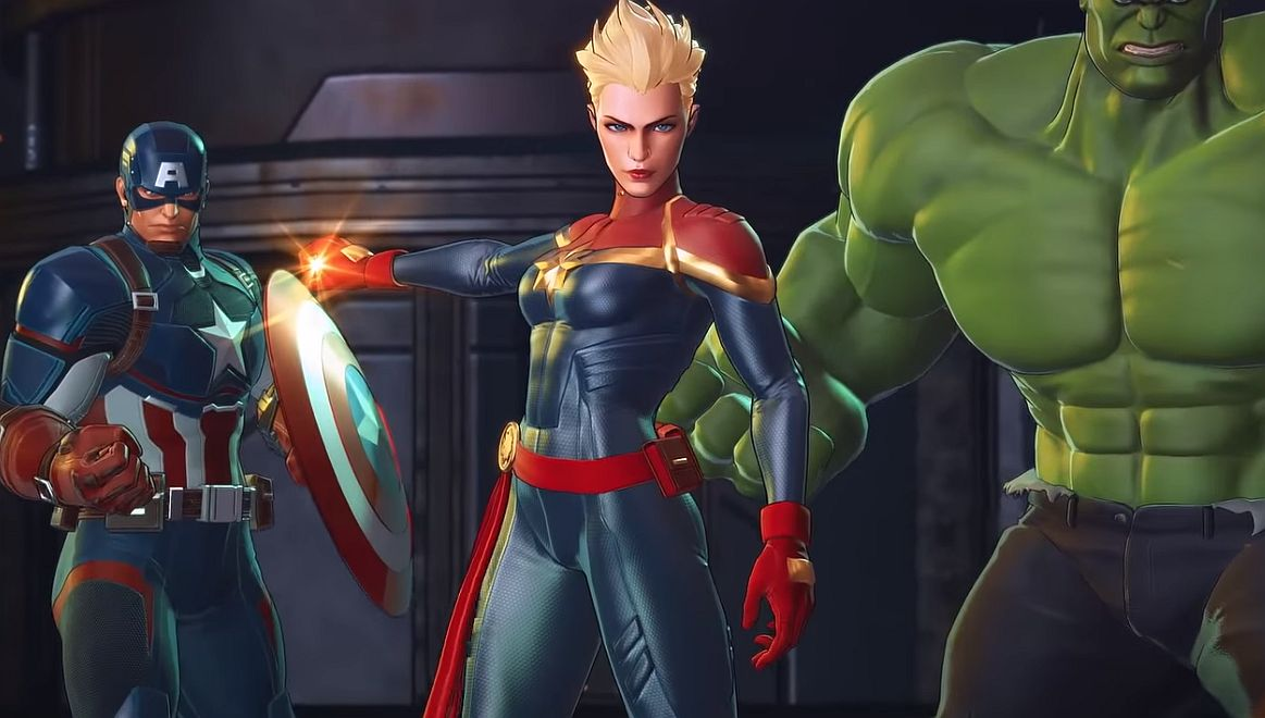 Checkout Captain Marvel in this new Marvel Ultimate ...