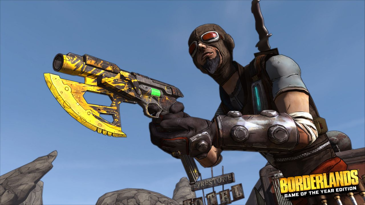 'Borderlands: Game of the Year Edition' and 'Handsome ...