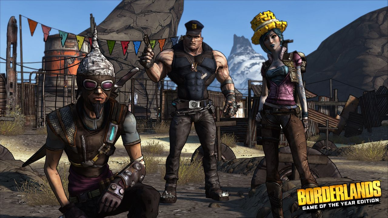 Borderlands: Game Of The Year Edition Coming To PS4, Xbox
