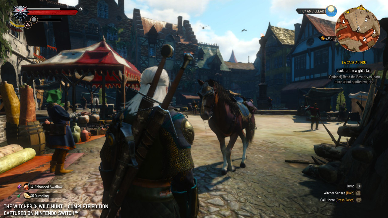 The Witcher 3 Switch Update Adds Cross