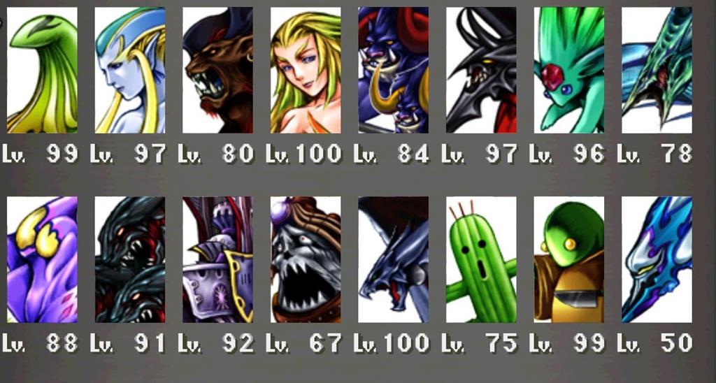 Final Fantasy 8 Remastered Guardian Force Information
