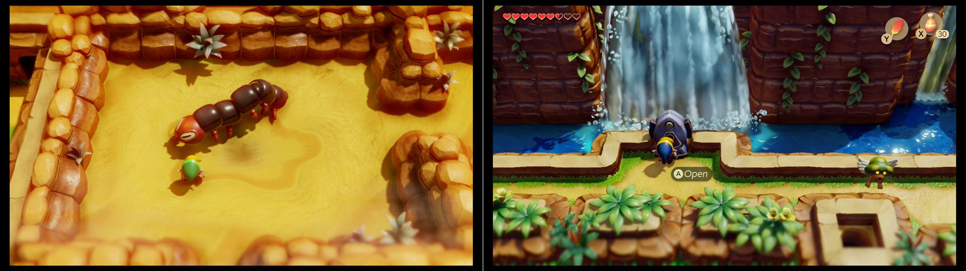 Zelda Link S Awakening Angler S Cavern Dungeon