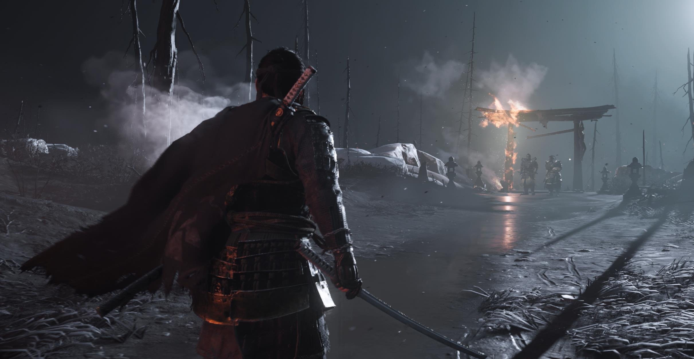 Ghost of Tsushima has a button to flick the blood off your ...Ghost Of Tsushima