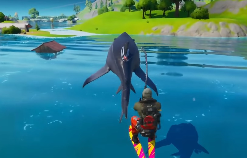 fortnite chapter  season    find loot sharks