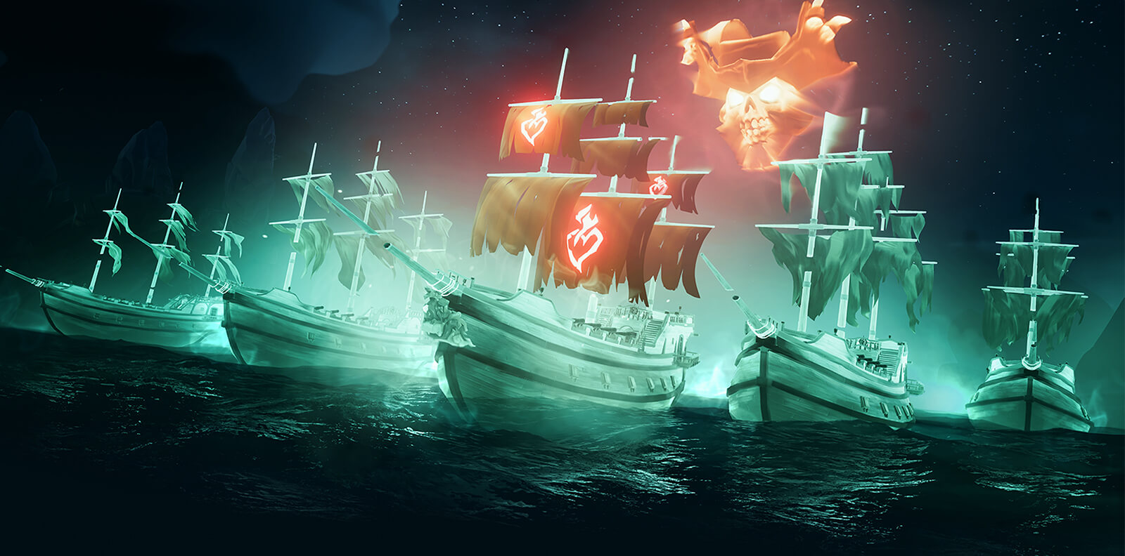 sea  thieves update haunted shores adds ghost ships