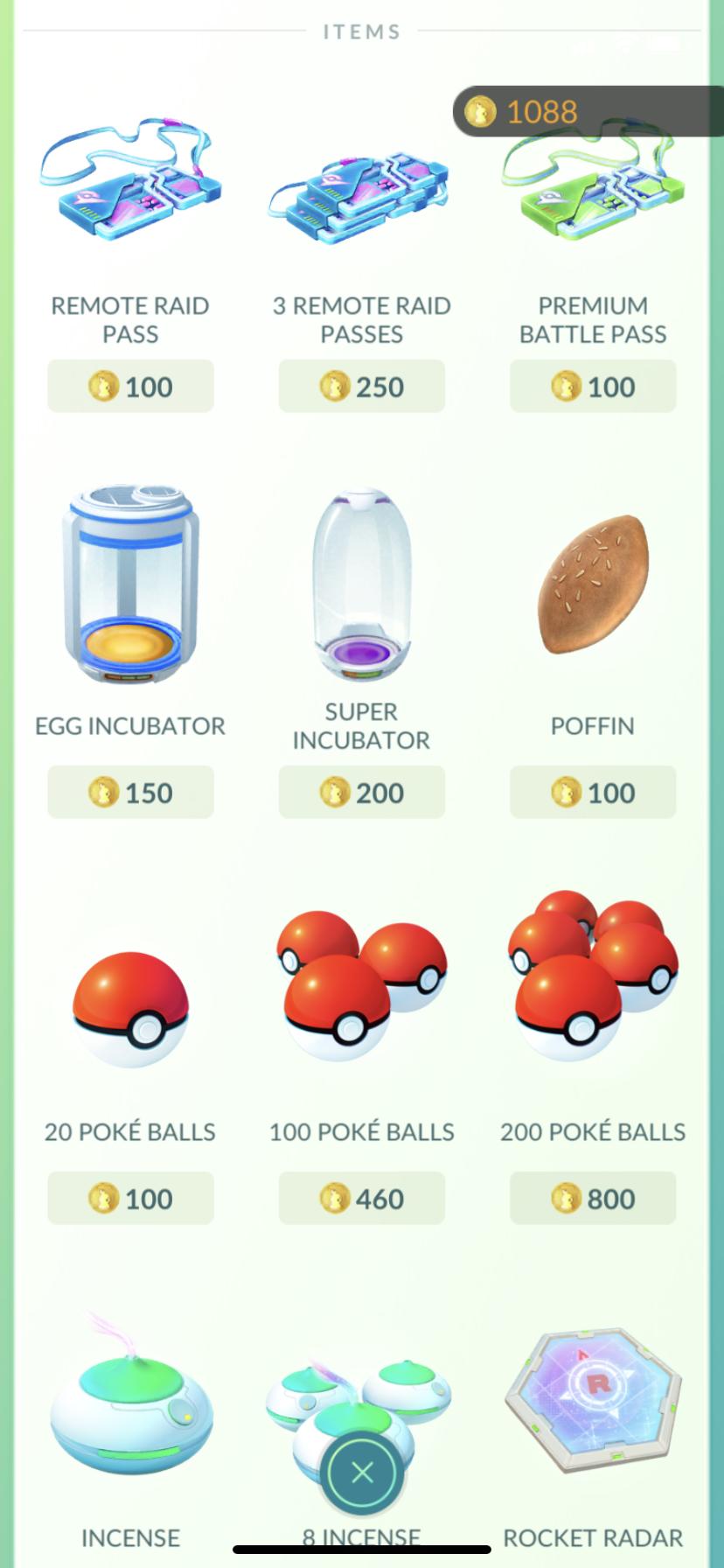 how do i buy coins in pokemon go