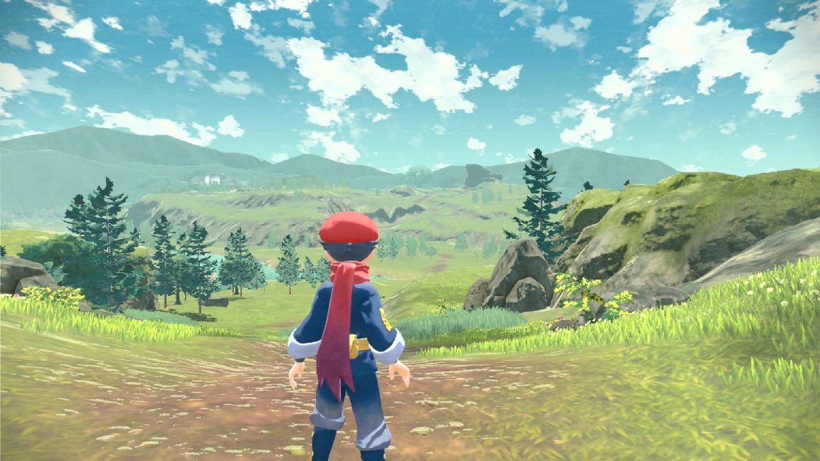 Pokemon Legends: Arceus is a 3D action RPG that's launching next year