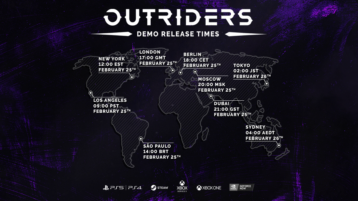 Outriders demo detailed, progress will carry over to the full game