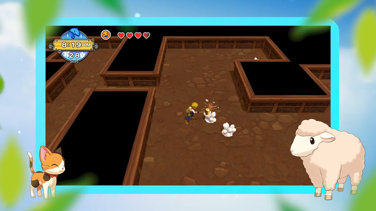 Harvest Moon: One World bronze | Finding, mining, and refining