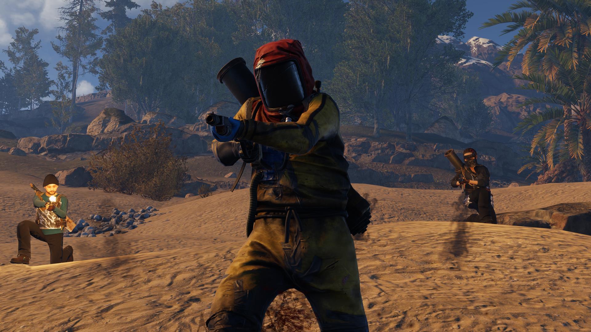 Brutal Survival Game Rust Set To Arrive On PlayStation 4