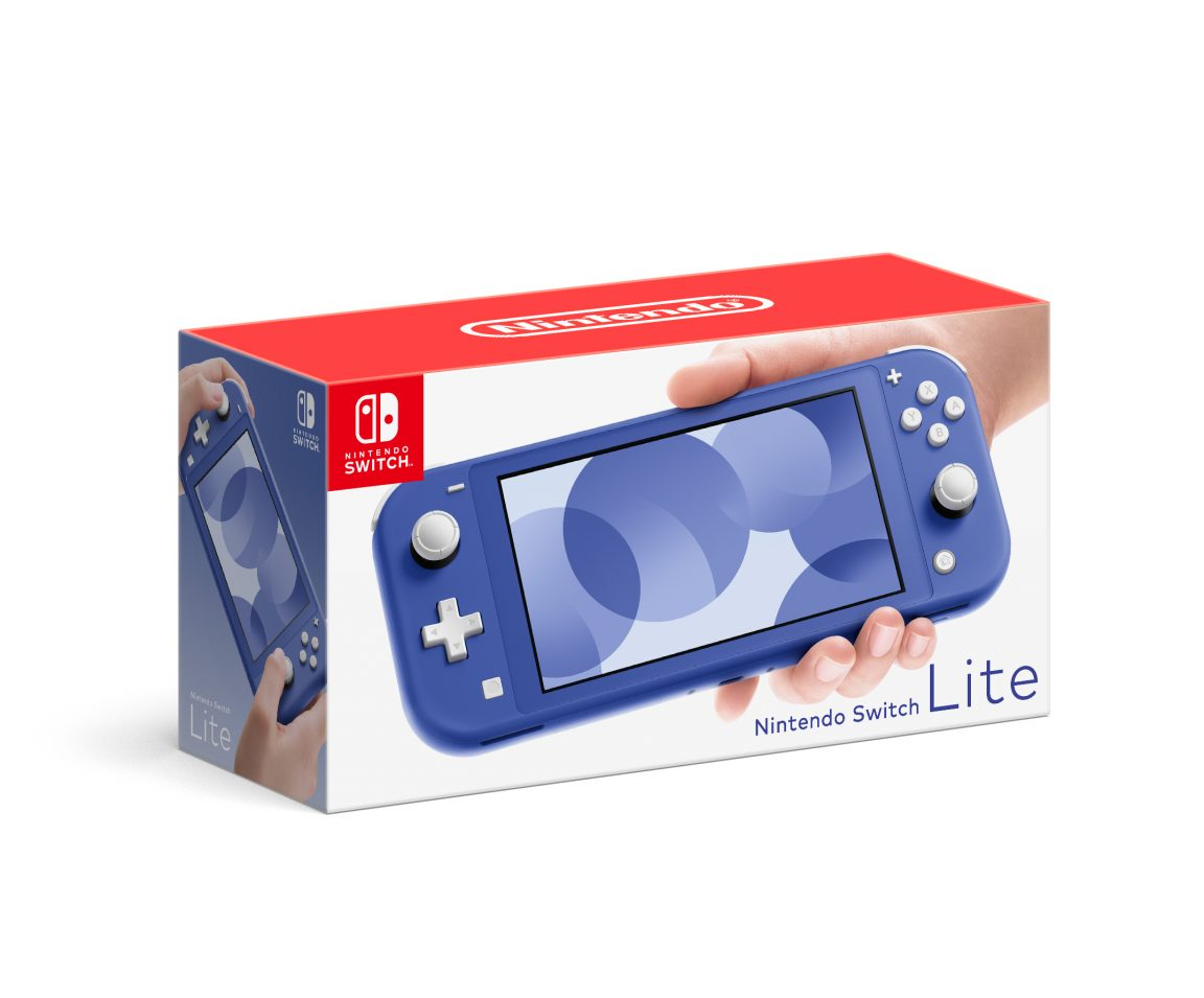 Nintendo is launching a blue Switch Lite system