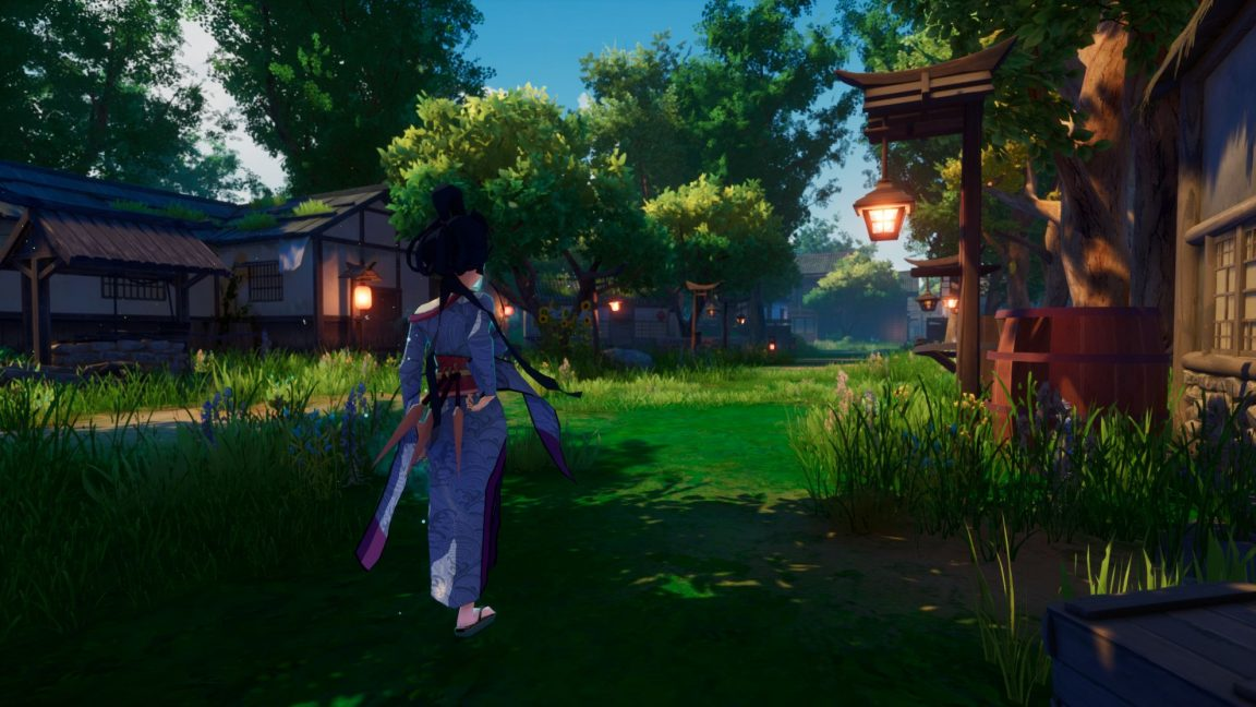 Rogue Spirit is ananime-inspired action-adventure game coming to Steam Early Access