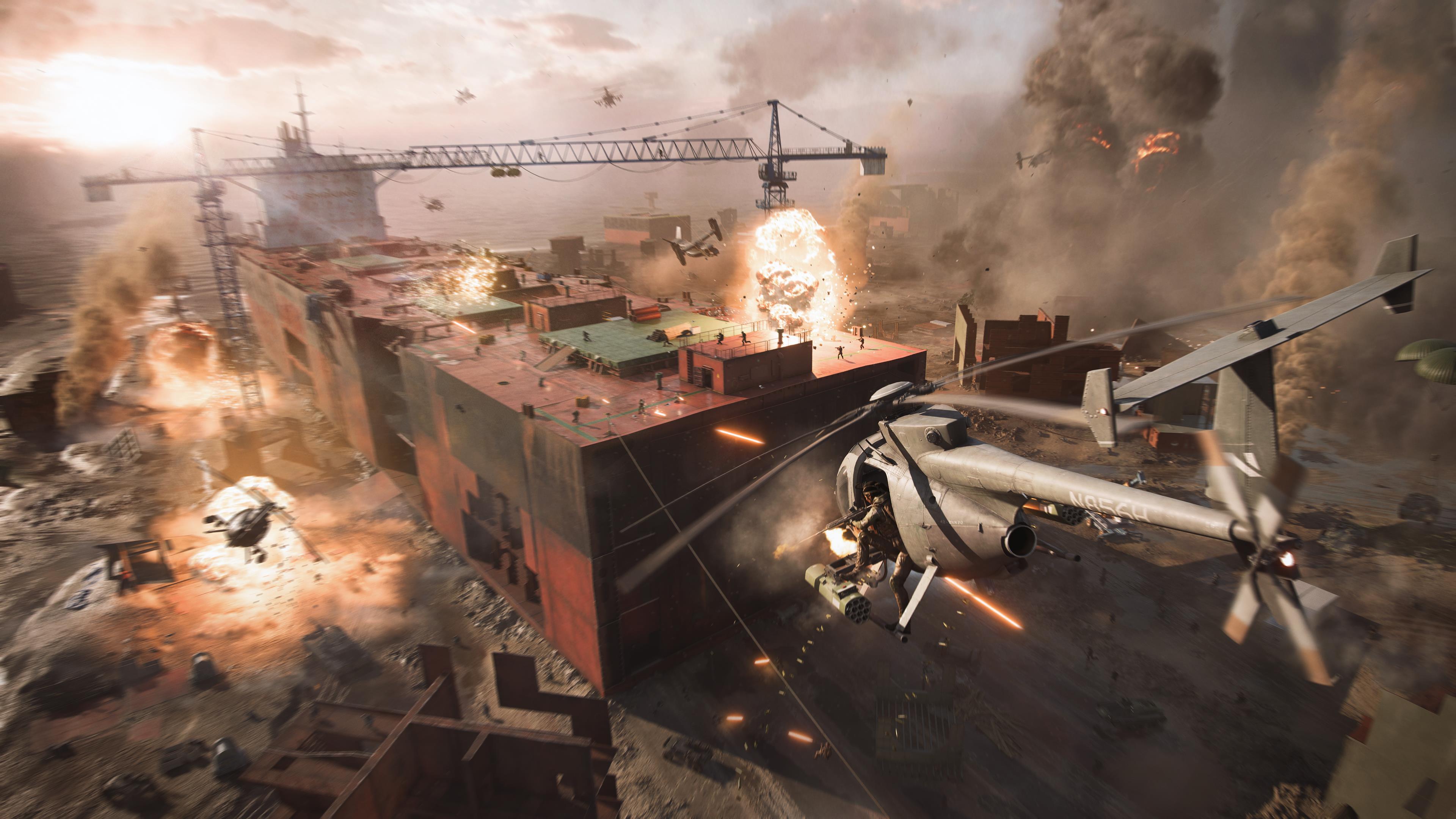Battlefield 2042 is essentially three games in one - VG247