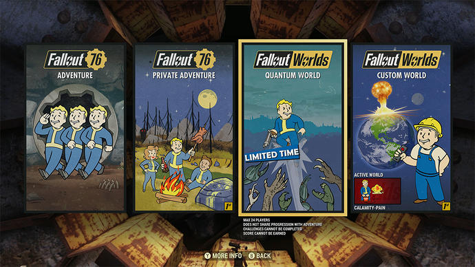 Fallout 76 getting custom servers as part of its paid Fallout 1st subscription