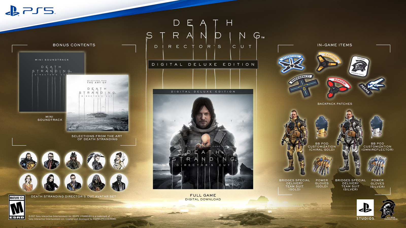 Death Stranding Director's Cut brings expanded combat and new content to PS5 in September